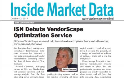 ISN Debuts VendorScape Optimization Services