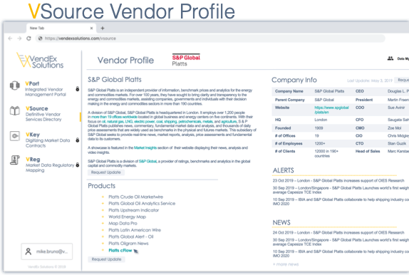 VSource Vendor Profile