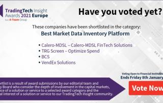 TradingTech Insight Awards 2021 Europe - Shortlist